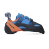 Evolv Men's Shaman Climbing Shoe - 12.5 - Blue / Orange