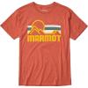 Marmot Men's Coastal SS Tee - XXL - Picante Heather
