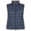 Save The Duck Women's Sherpa Vest - Medium - Ebony Grey
