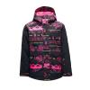 Spyder Girls' Claire Jacket - 10 - Sweater Weather Print