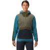 Mountain Hardwear Women's Unclassic Fleece Hoody - Large - Washed Turq
