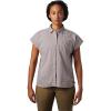 Mountain Hardwear Women's Camp Oasis SS Shirt - XL - Mystic Purple