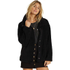 Billabong Women's Cozy Days Jacket - Small - Black