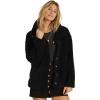 Billabong Women's Cozy Days Jacket - Large - Black
