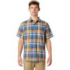 Mountain Hardwear Men's Big Cottonwood SS Shirt - XL - Better Blue