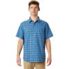 Mountain Hardwear Men's Big Cottonwood SS Shirt - XL - Deep Lake