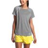 The North Face Women's Active Trail Jacquard SS Top - Small - TNF Medium Grey Heather