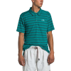 The North Face Men's Plaited Crag Polo Shirt - XL - Fanfare Green Crag Stripe