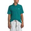 The North Face Men's Plaited Crag Polo Shirt - XXL - Fanfare Green Crag Stripe