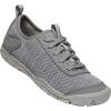Keen Women's Hush Knit CNX Shoe - 11 - Steel Grey / Drizzle