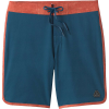 Prana Men's High Seas Boardshort - 35 - Atlantic