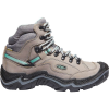Keen Women's Durand II Mid Waterproof Boot - 5.5 - Grey Flannel / Steel Grey