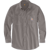 Carhartt Men's Flame-Resistant Force Original-Fit Lightweight LS Butto - Small Regular - Navy