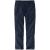 Carhartt Men's Flame-Resistant Rugged Flex Relaxed Fit Canvas Work Pan - 33x34 - Navy