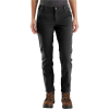 Carhartt Women's Straight Fit Twill Double Front Pant - 10 Tall - Black