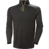 Helly Hansen Men's HP 1/2 Zip Pullover - Large - Ebony