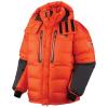 Mountain Hardwear Men's Absolute Zero Parka - Small - State Orange / Shark