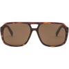 Electric Dude Polarized Sunglasses - One Size - Matte Tortoise / Ohm Polarized Bronze