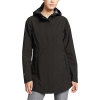 Eddie Bauer Women's Cloud Cap 2.0 Stretch Rain Jacket - XL - Black