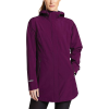 Eddie Bauer Women's Cloud Cap 2.0 Stretch Rain Jacket - Large - Dark Plum