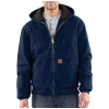 Carhartt Men's Quilted Flannel Lined Sandstone Active Jacket - XXL Tall - Midnight