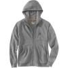 Carhartt Men's Force Delmont Graphic Full Zip Hooded Sweatshirt - XXL Regular - Asphalt Heather