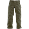 Carhartt Men's Washed Twill Dungaree Pant - 30x34 - Army Green