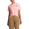 The North Face Women's Dome Climb SS Tee - Small - Impatiens Pink / Burnt Olive Green