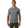 Mountain Hardwear Men's Crater Lake SS Tee - XXL - Light Storm