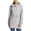 Eddie Bauer Women's Rainfoil Trench - XL - Light Gray