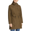 Eddie Bauer Women's Rainfoil Trench - Large - Hunter
