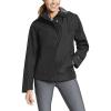 Eddie Bauer Women's Rainfoil Odessa Jacket - Medium - Black