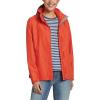 Eddie Bauer Women's Rainfoil Packable Jacket - Large - Deep Red