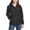 Eddie Bauer Women's Rainfoil Packable Jacket - Large - Black