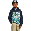 The North Face Youth Fanorak Pullover - XS - Jaiden Green Valley Block Print