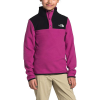 The North Face Girls' Glacier 1/4 Snap Top - XXS - Wild Aster Purple