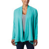 Columbia Women's Slack Water Knit Cover Up Wrap - Large - Dolphin