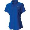Columbia Women's Lo Drag SS Shirt - XL - Stormy Blue