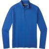 Smartwool Men's Merino 150 Baselayer 1/4 Zip Top - Large - Light Alpine Blue
