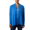Columbia Women's Slack Water Knit Cover Up Wrap - Medium - Stormy Blue
