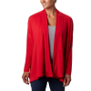 Columbia Women's Slack Water Knit Cover Up Wrap - Medium - Red Lily