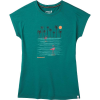 Smartwool Women's Merino Sport 150 Surfing Flamingos Tee - XL - Dark Peacock