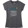 Smartwool Women's Merino Sport 150 Surfing Flamingos Tee - XL - Medium Grey Heather