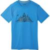 Smartwool Men's Merino Sport 150 Glouton Tee - Large - Ocean Blue