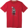 Smartwool Men's Merino Sport 150 Game Of Ghosts Tee - XXL - Chili Pepper Heather