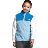 The North Face Girls' Glacier 1/4 Snap Top - XS - Angel Falls Blue