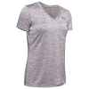 Under Armour Women's UA Tech Twist V-Neck Tee - Small - Flint / Metallic Silver 033