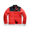 The North Face DRT Down Mid Layer Jacket - Large - Fiery Red / TNF Black