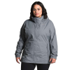 The North Face Women's Plus Resolve Jacket - 3X - Mid Grey