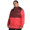 The North Face Women's Plus 2.0 Fanorak - 3X - Barolo Red / Cayenne Red